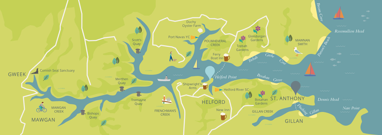 St. Anthony Map
